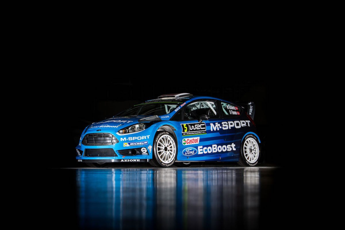 Ford Fiesta Rs Wrc 2016 Ovale Bleu