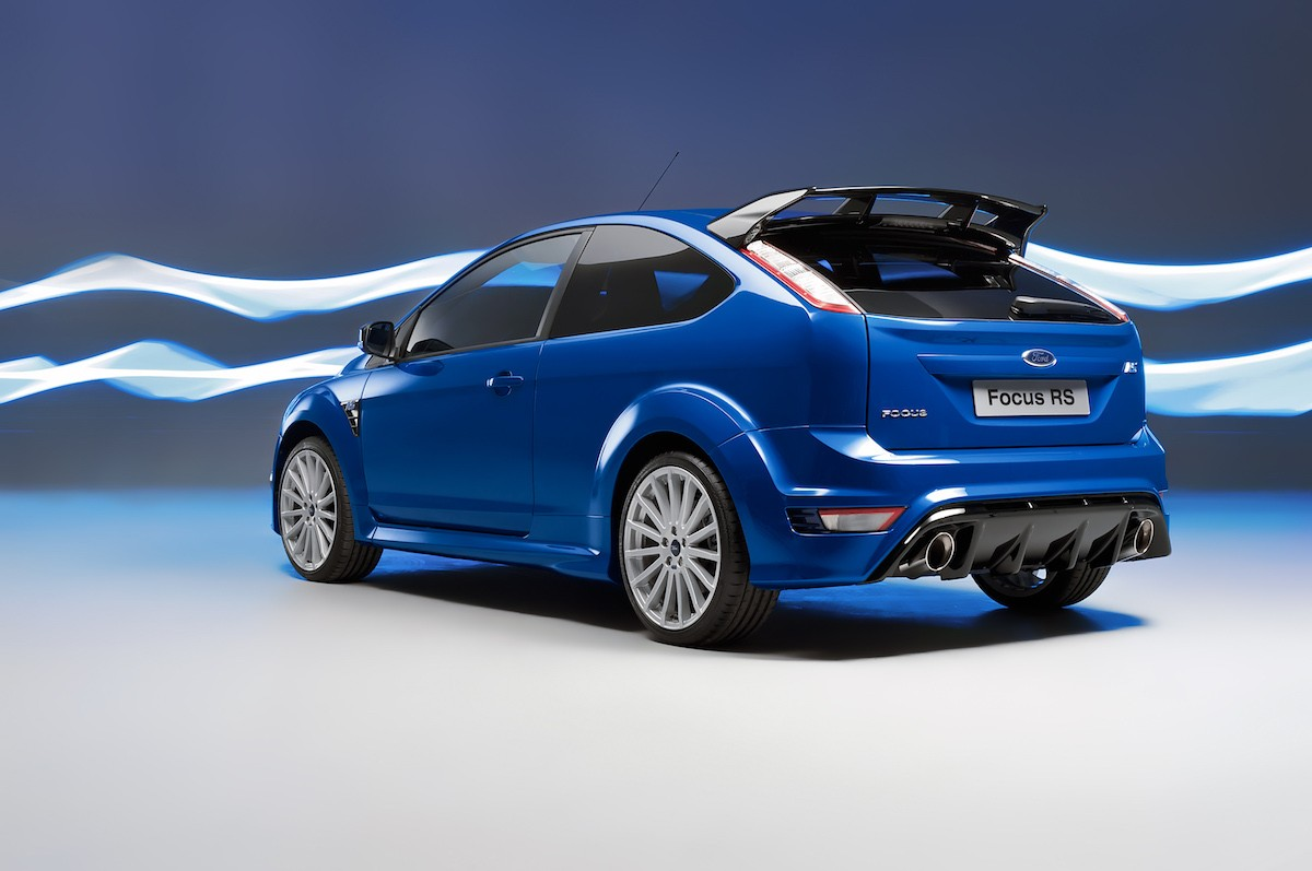 ford focus rs 2009 ovale bleu. Black Bedroom Furniture Sets. Home Design Ideas
