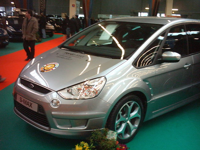 Ford S-Max, 2007 - Photographie Ovale Bleu