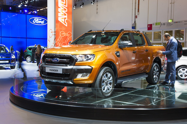 le nouveau ford ranger et sa version wildtrack font leurs d buts sur la sc ne europ enne. Black Bedroom Furniture Sets. Home Design Ideas