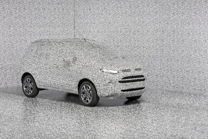 u201cbrick u201d  le nouveau camouflage 3d de ford pour tromper les