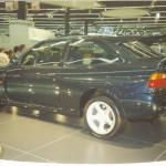 La Ford RS Cosworth au Mondial de l'Automobile de Paris en 1992