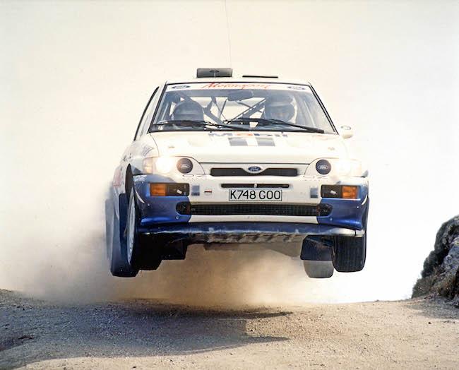 La Ford Escort RS Cosworth remporte le Rallye du Portugal 1993 avec François Delecour
