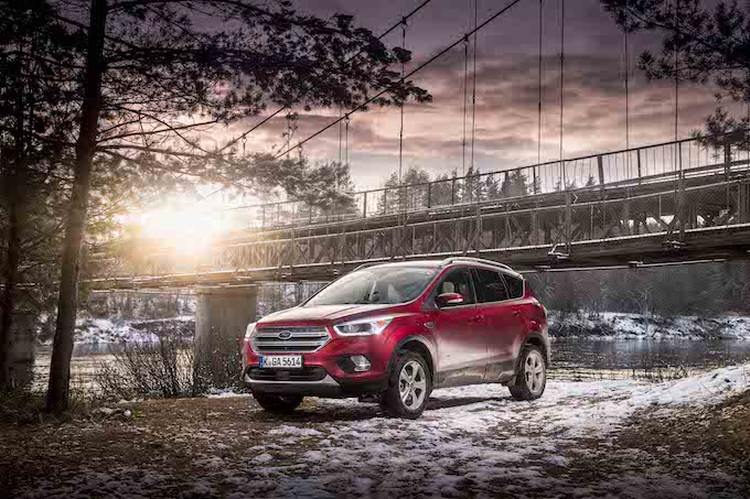 SUV, FIESTA AND COMMERCIAL VEHICLE SALES POWER FORD TO NO. 2 BRAND IN EUROPE IN MARCH
