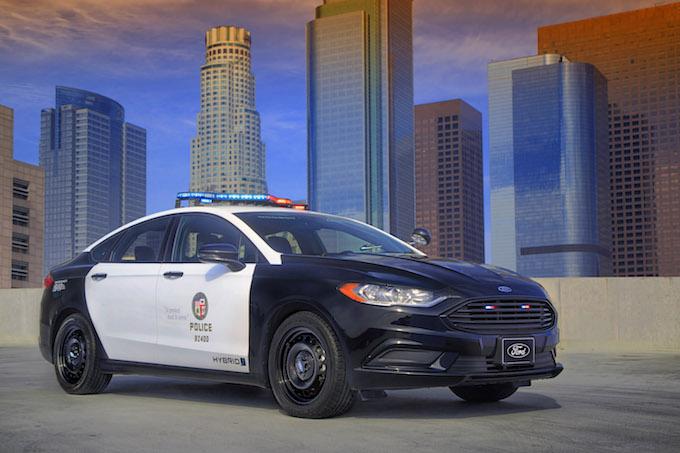 Ford Police Responder Hybrid Sedan