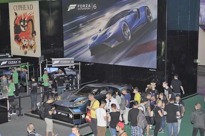 Ford au gamescom 2015
