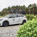 Ford Adds Striking White Focus RS for Tour de France to Celebrate Two-Year Partnership Extension with Team Sky