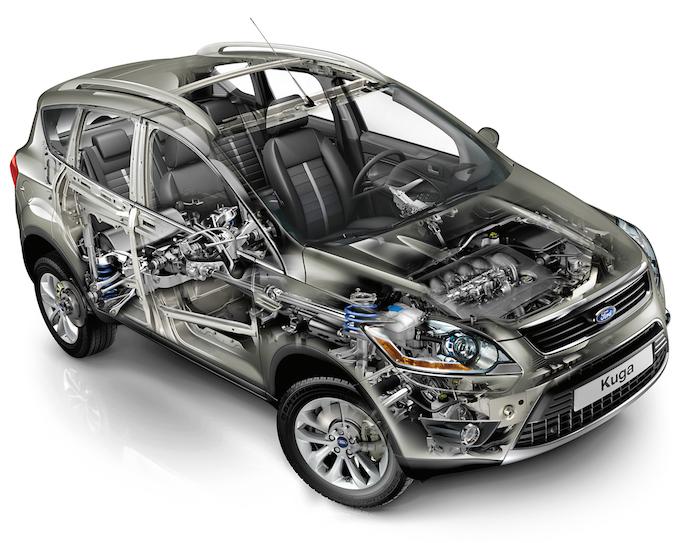 Ford Kuga (2008)
