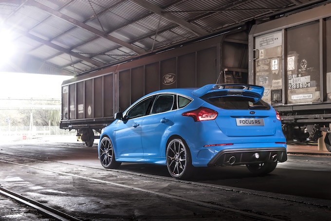 Focus RS Mk3, Mk2 & Mk1 Photo: James Lipman