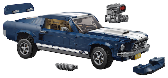 Ford and LEGO® Bring a Classic Icon of the Road to the Creator Expert Range with the New Ford Mustang Set