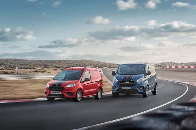 Most Powerful Ford Transit Sport Van Ever Heads Up Distinctive T